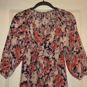 Tucker Silk Dress